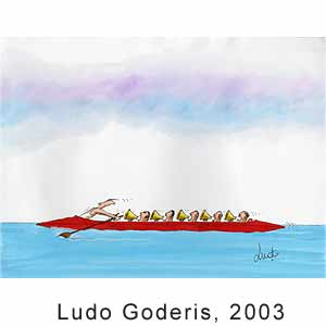 Ludo Goderis, SPORT & GAME contest, Dicaco, 2003