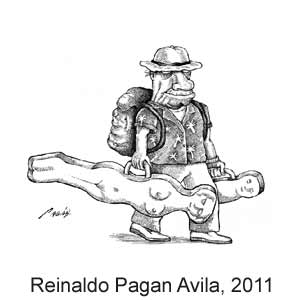 Reinaldo Paganavila, World Press Cartoon, 2011